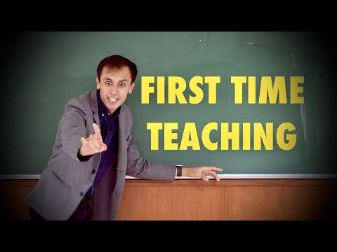 first-time-teacher