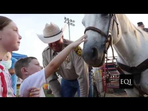 SHERIFF'S Rodeo, Maury County TN.