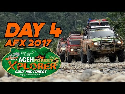 XTRIM INDONESIA LANGSA - DAY 4 - ACEH FOREST XPLORER 2017