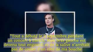 """Robbie Williams: """"Les médecins ont trouvé du sang dans mon cerveau"""""""