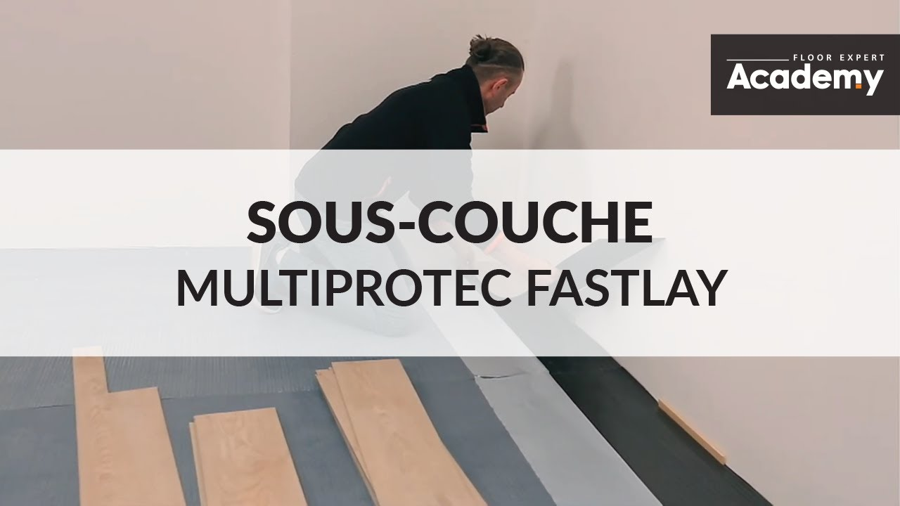 Sous-couche auto-adhésive Multiprotec Fastlay - YouTube