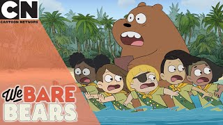 We Bare Bears | Find Food | Cartoon Network UK