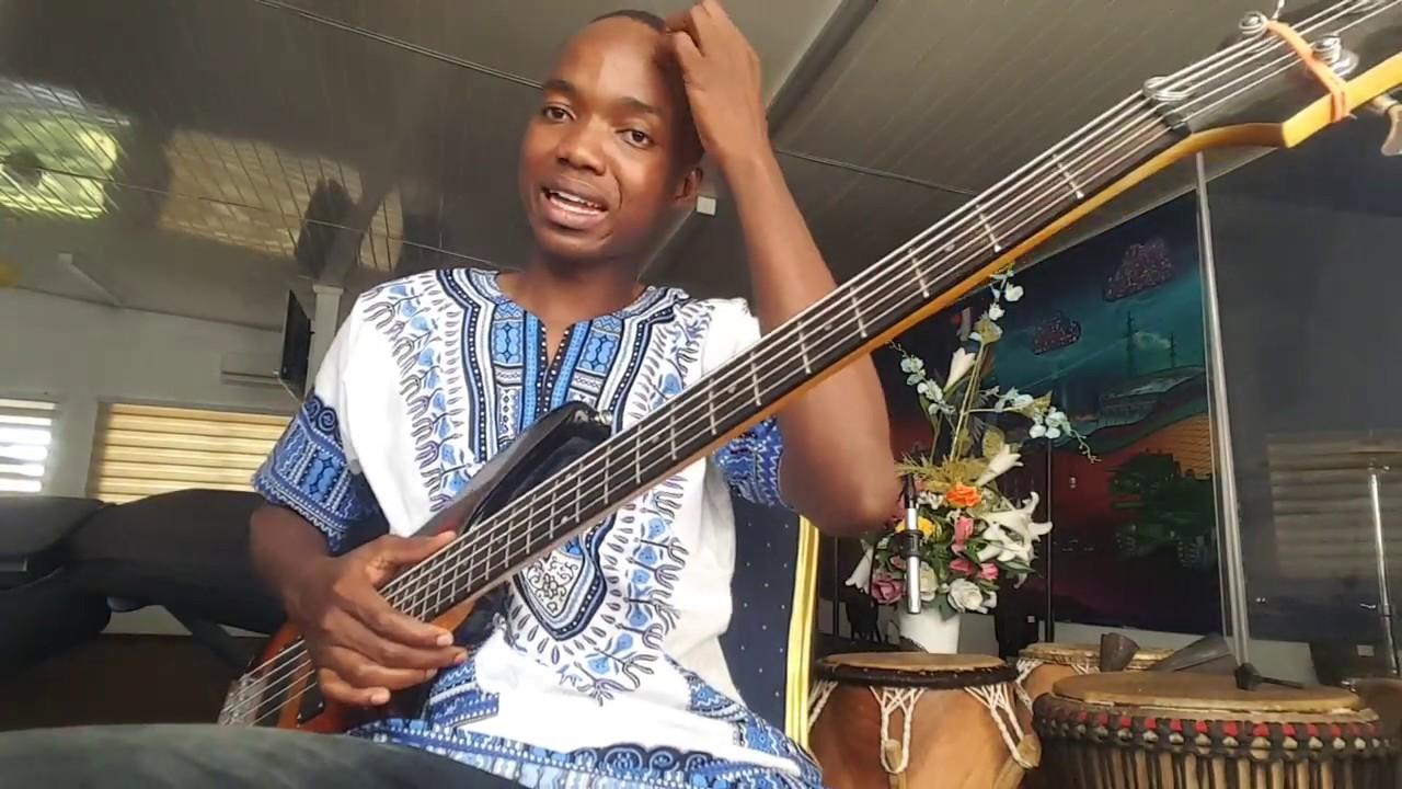 Download Pentecost + soukous highlife bassline | biginner bass guitar lesson