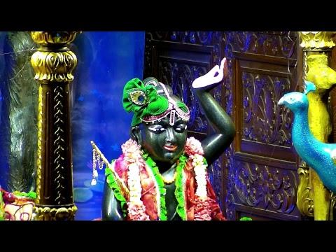 Sri Sri Radha Gopinath Temple Shayan Arati Darshan 24th May 2018 Live from ISKCON Chowpatty,Mumbai