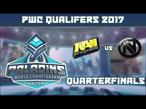 PWC Qualifiers: Quarterfinals - Natus Vincere vs. Team Envy