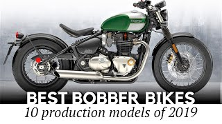 Top 10 Bobber Motorcycles Showing a Modern Take on Classic Stripped-down Designs