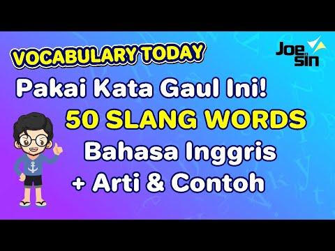 50 Kata Gaul dalam Bahasa Inggris | Slang Words Mp3