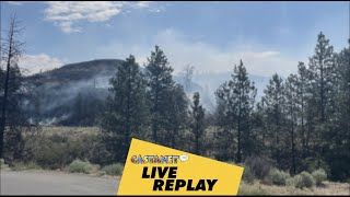 LIVE REPLAY: Nk'Mip fire grows north