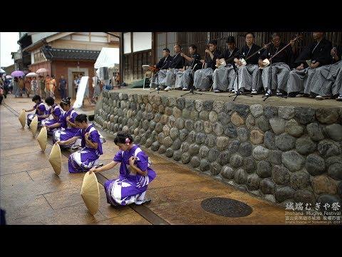 4k 野下町 城端むぎや祭2018 坡場の坂会場 Johana Mugiya Festival