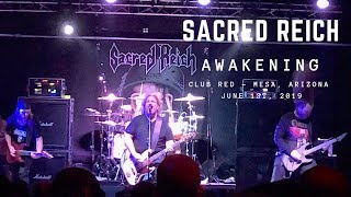 Sacred Reich - Awakening (new song 2019) - Club Red Mesa, Arizona - June 1st, 2019