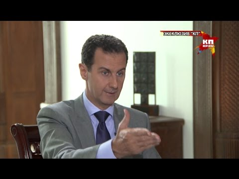 President Bashar Al Assad's interview given to Russia's Koms