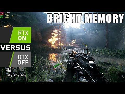 Bright Memory : Ultra vs RAY TRACING ( DLSS )