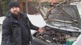 volkswagen Golf II 1.3 антиквариат, всё родное