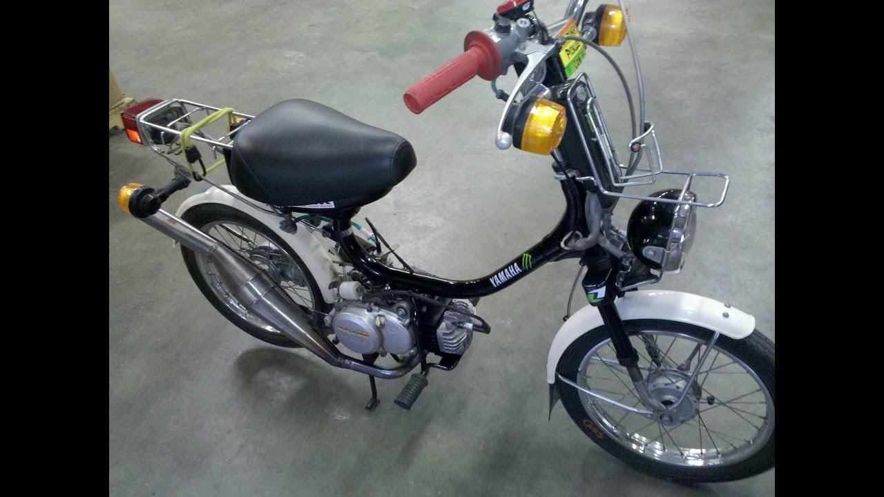 Yamaha QT50 Moped Malossi Kit Speed Run