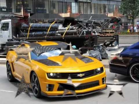 Transformers 3 Chevrolet Camaro Zl1 Bumblebee Youtube