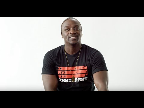 I Am An Immigrant: From Senegal to the Grammy's, Akon inspires us all!