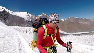 Экспедиция на Пик Ленина день 18-20 второй заход Lenin Peak 7134