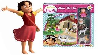 HEIDI Italiano - Costruiamo la Casa e il Mondo di Heidi [Apertura Unboxing Giocattolo per Bambini]