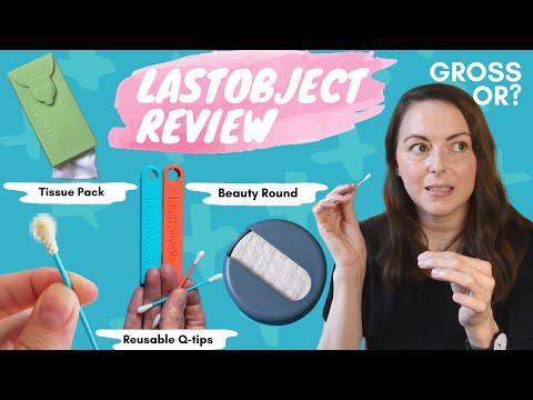 LastObject Review - LastSwab Reusable Q-tip - GROSS OR GREAT? + Beauty Swab, LastRound & LastTissue!