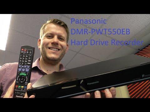 PANASONIC DMRPWT550 RECORDER