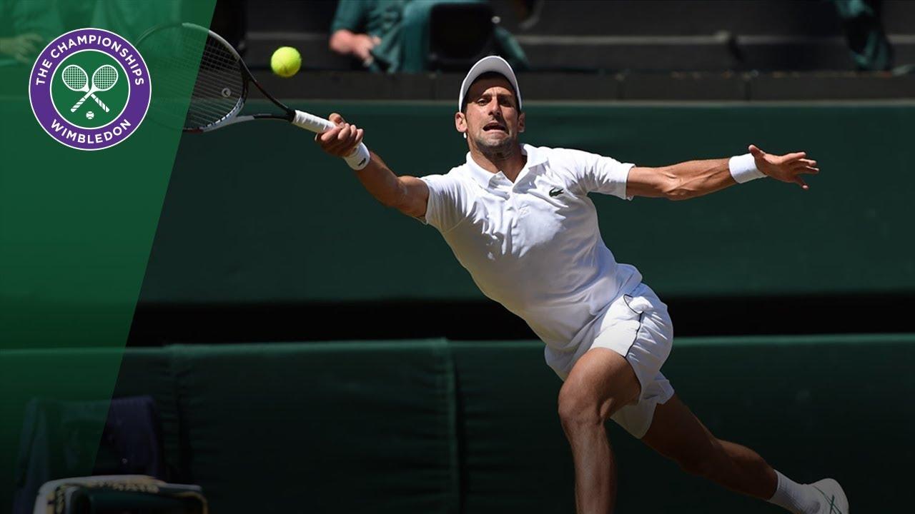 HSBC Play of the Day - Novak Djokovic