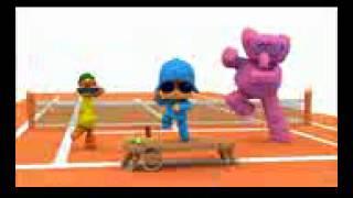 Pocoyo bailando oppa gangnam style
