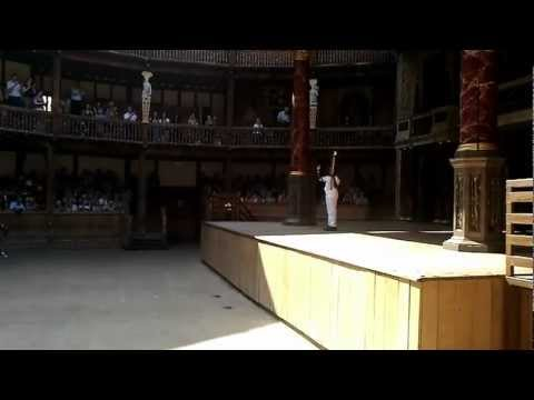 The Olympic Torch at Shakespeare's Globe