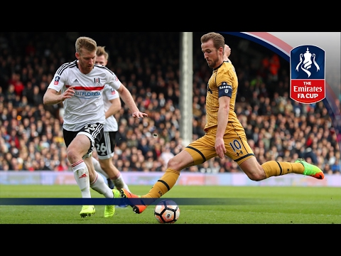 Fulham 0-3 Tottenham Hotspur – Emirates FA Cup 2016/17 (R5) | Official Highlights