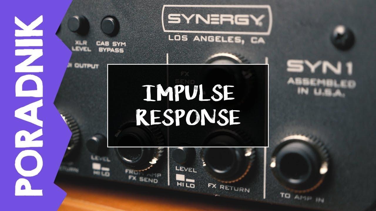 Nagrywanie gitary elektrycznej w domu #4 – Impulse Response – IR