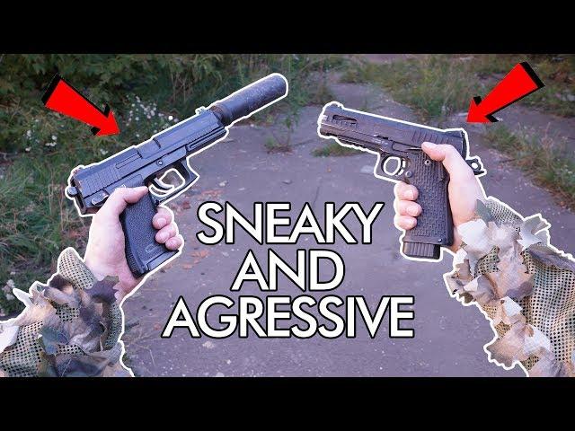 Dual Wielding Pistols - Best of both worlds!