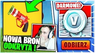 NOWA BRON FLARA ODKRYTA ! * CUSTOMY *  W FORTNITE | hajTv #FORTNITE - Na żywo