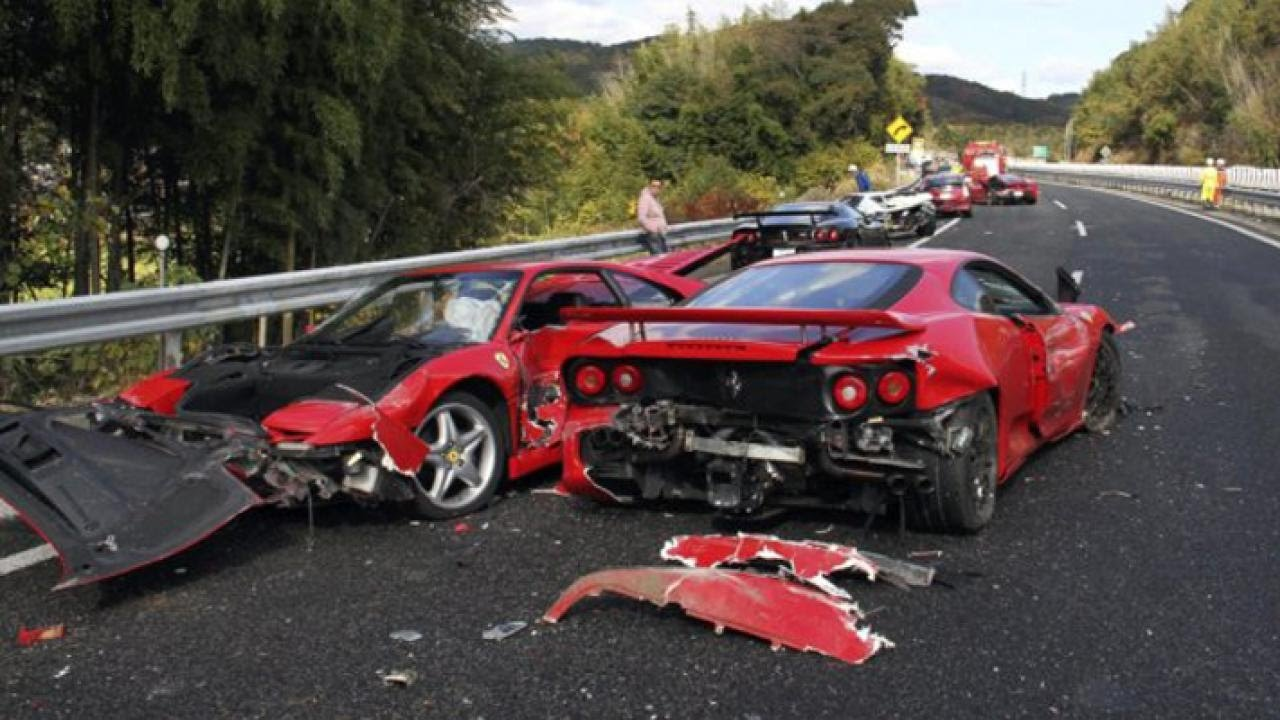 Super Car Crash Compilation Crashes And Accidents Lamborghini