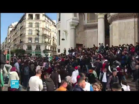 إضراب جزئي في الجزائر استجابة لدعوات عصيان مدني  - 11:54-2019 / 3 / 11
