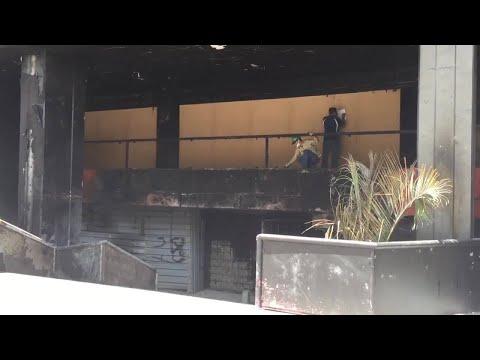 Venezuelan authorities investigate arson at Supreme Court building