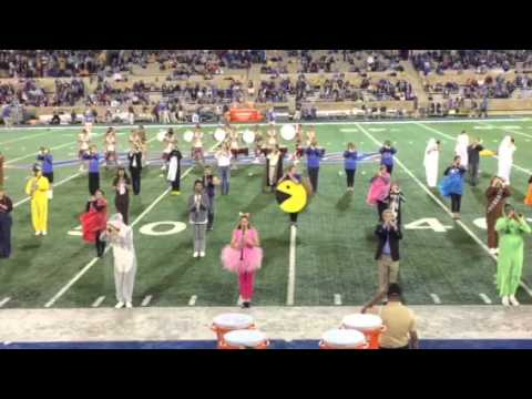 The Sound of the Golden Hurricane Marching Band Halloween 2
