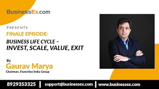 Episode 30- Business Life Cycle – Invest, Scale, Value, Exit