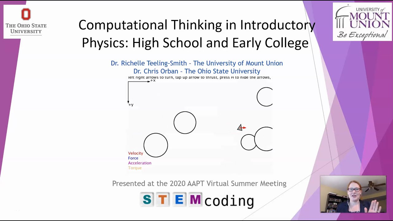 What is computational thinking and what does it have to do with physics?
