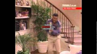 Carlton Banks-Tom Jones dance(The famous Carlton Dance)