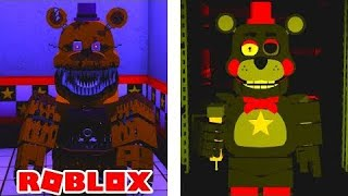 ROBLOX: Fred-bear's Custom Night| How To Get Replay Your Nightmares And Old Memories Badge