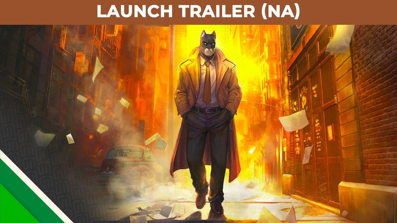 Blacksad: Under the Skin Launch Trailer | OnRPG