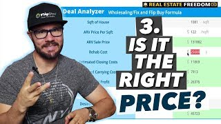 Three Factors When Choosing A House To Flip - 3. The Right Price