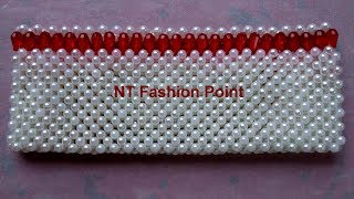 How to make girls patch bag | How to make beads bag | Beads and braids
