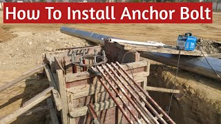 How to Install Anchor Bolt