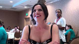 Once Upon A Fan - SDCC 2014 Interviews - Lana Parrilla