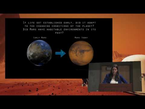 Jennifer Eigenbrode - Life on Mars - 19th Annual International Mars Society Convention