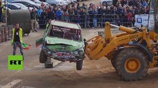 Brutal carrera de coches inspirada en la película