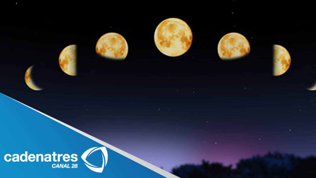 Fases de la luna y su beneficios - YouTube