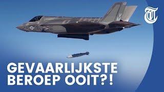 Bijzondere baan: kijk mee met de 'bommenman' - F-35 FIGHTER #03