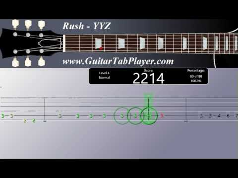 How to play Rush YYZ (Tab)