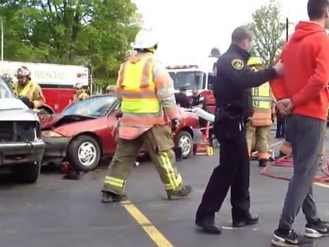 Hannibal Mock DWI Crash 2017